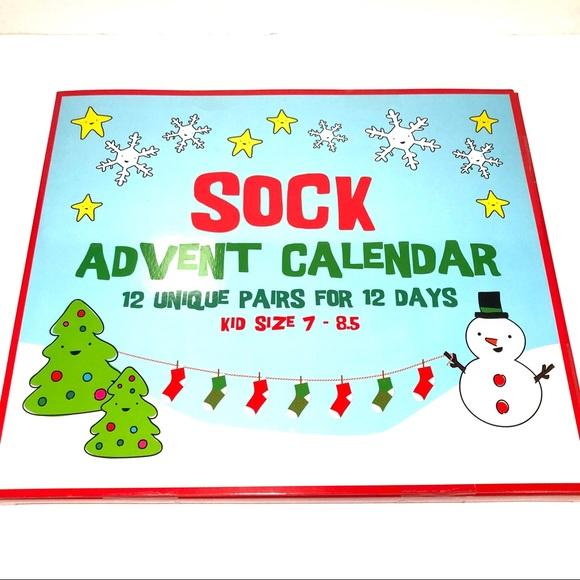 12 Days Of Christmas Socks.12 Days Of Christmas Kid Socks Advent Calendar Nwt